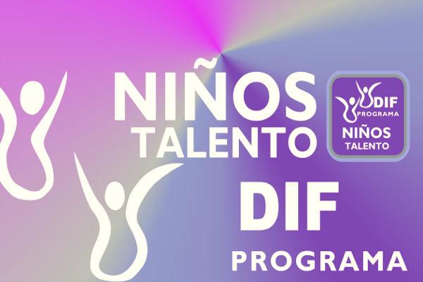 DIF DF Programa de Niñas y Niños Talento